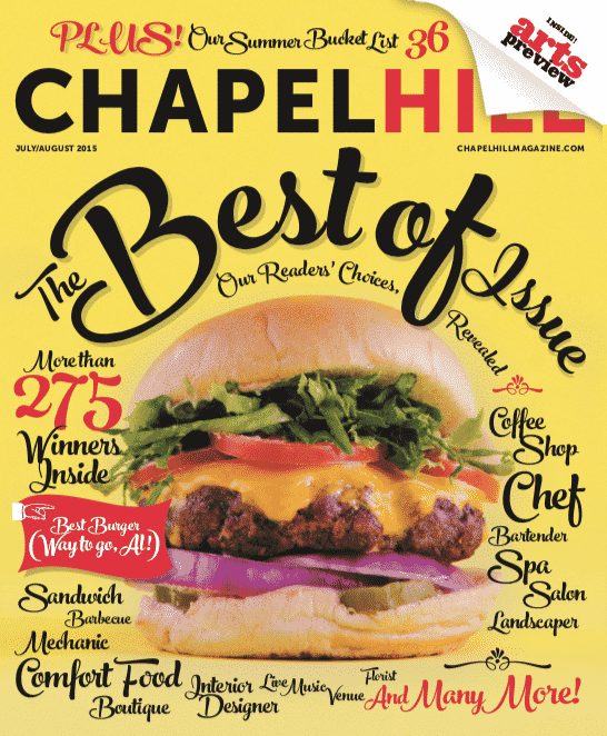 Al's Burger Shack's burger was voted a Chapel Hill favorite by readers.