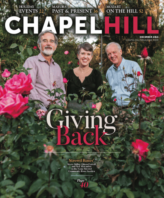 Strowd Roses, Inc. is nonprofit foundation dedicated to supporting the greater community of Chapel Hill and Carrboro.