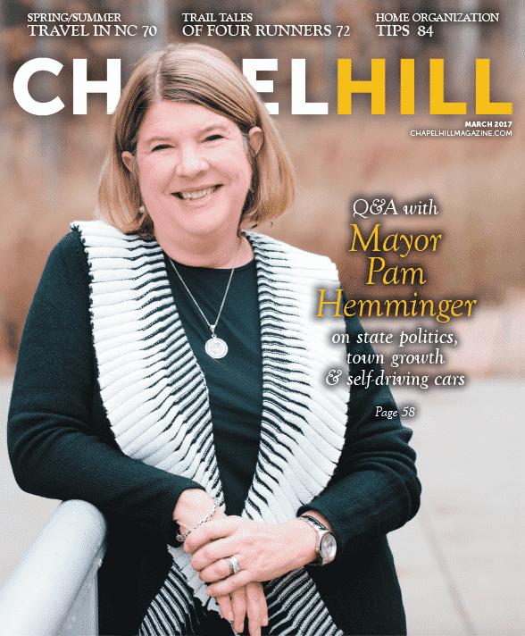 Mayor Pam Hemminger talks tate politics, town growth & self-driving cars.