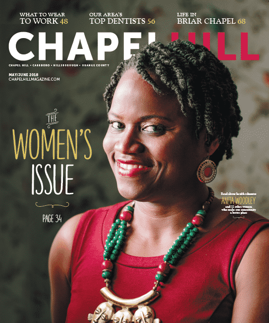 The May/June issue of Chapel Hill Magazine was the women's issue
