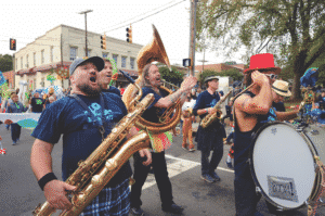 The Hillsborough Handmade Parade happens every two years
