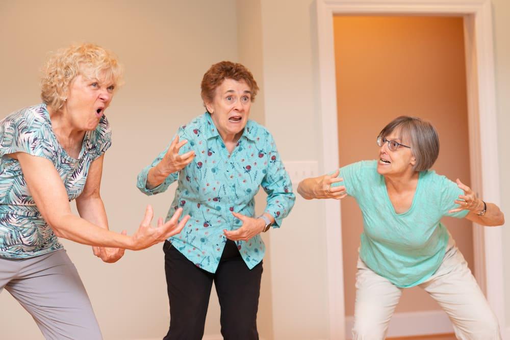 Jennifer Van Vickle, Carolyn Cole and Barbara Grubb