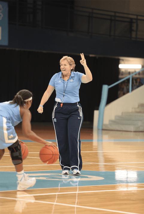 Coach Sylvia Hatchell