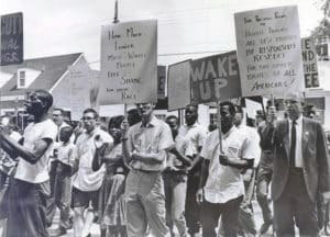 Colonial Drug Co. Demonstration in 1964