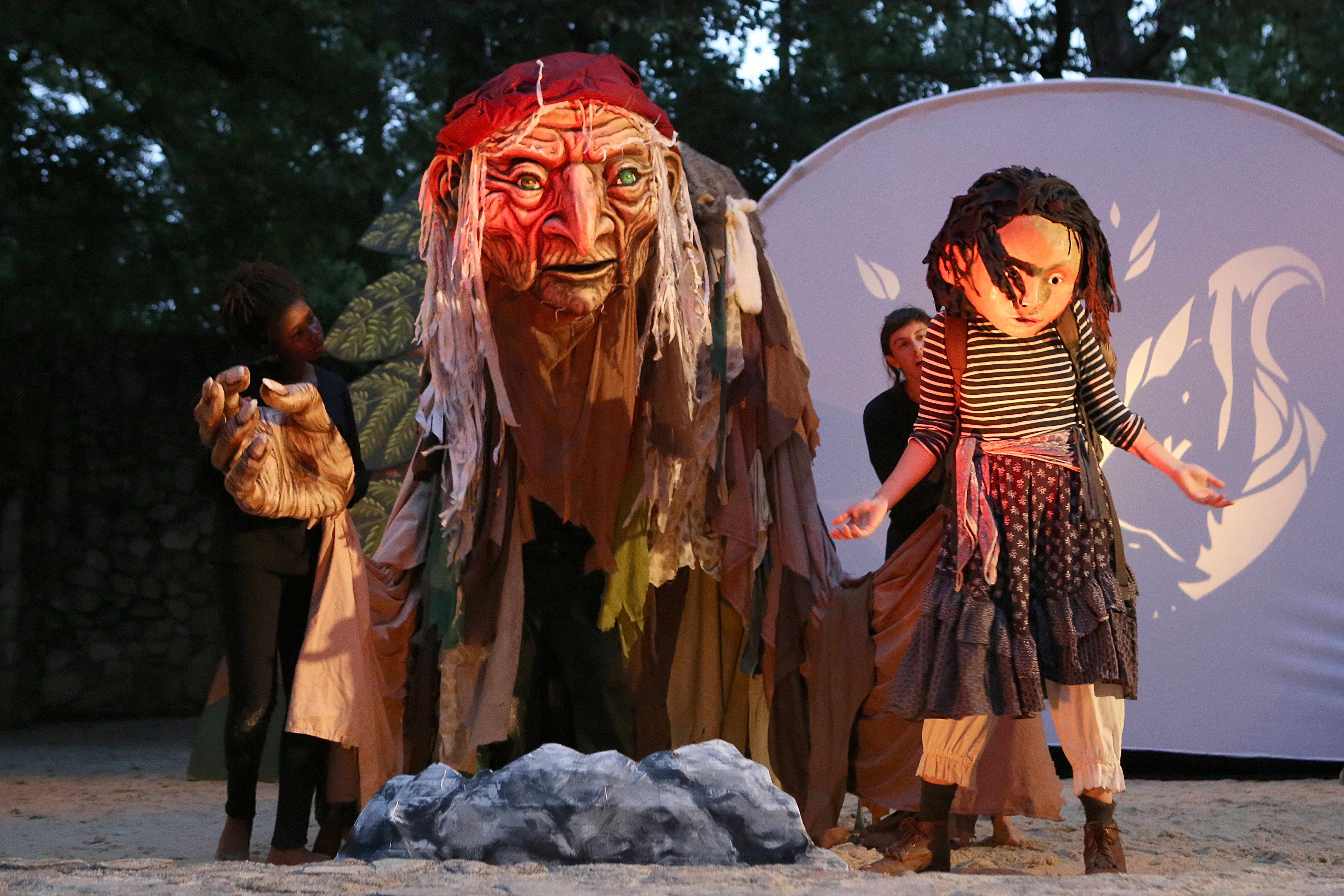 """Check out Paperhand Puppet Intervention's production of """"Of Wings and Feet"""" at Forest Theatre this weekend. Photo by Lee Capps"""