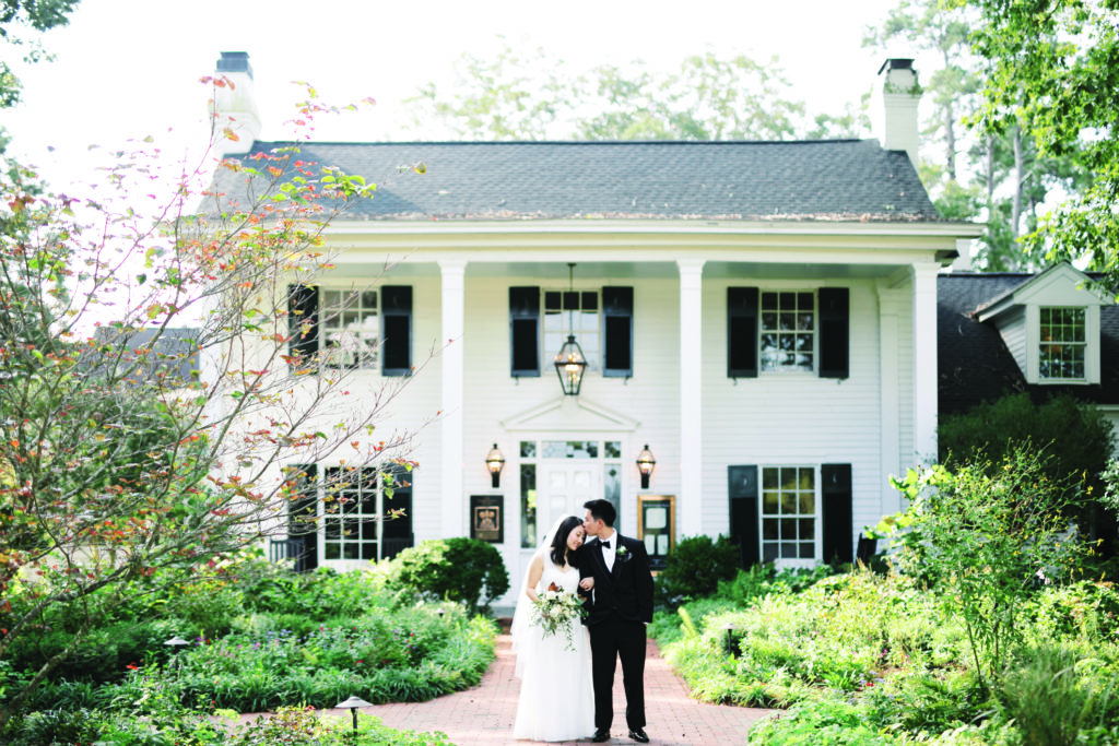 Fearrington Village hosts many weddings at all times of the year.