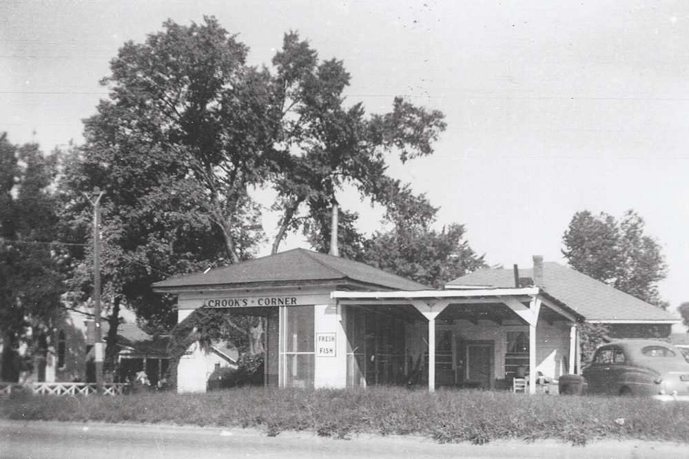 Crook's Corner in the 1940s