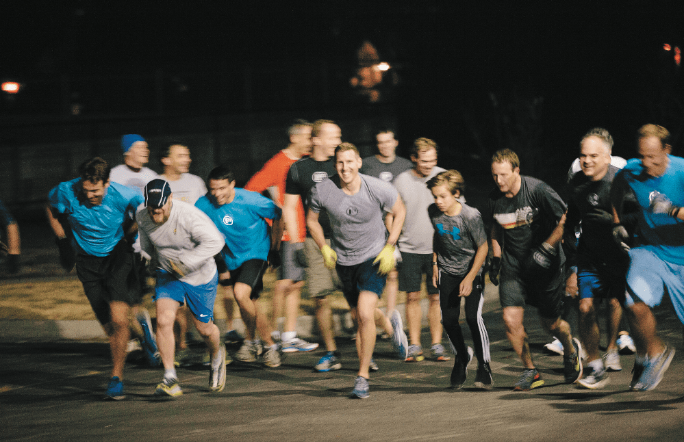 This group makes it look so easy. Photo by Briana Brough.