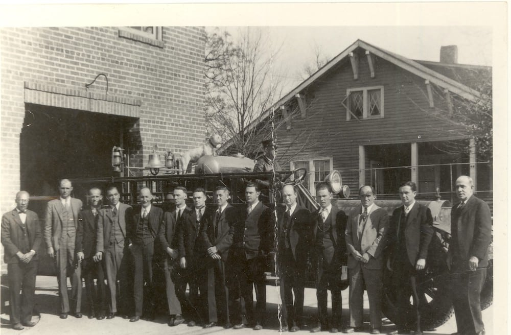 Chapel Hill Fire Department 1928