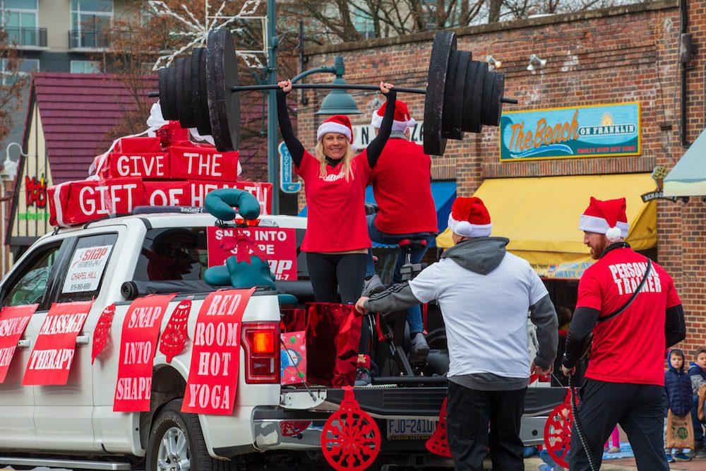 Chapel Hill-Carrboro Holiday Parade 2018