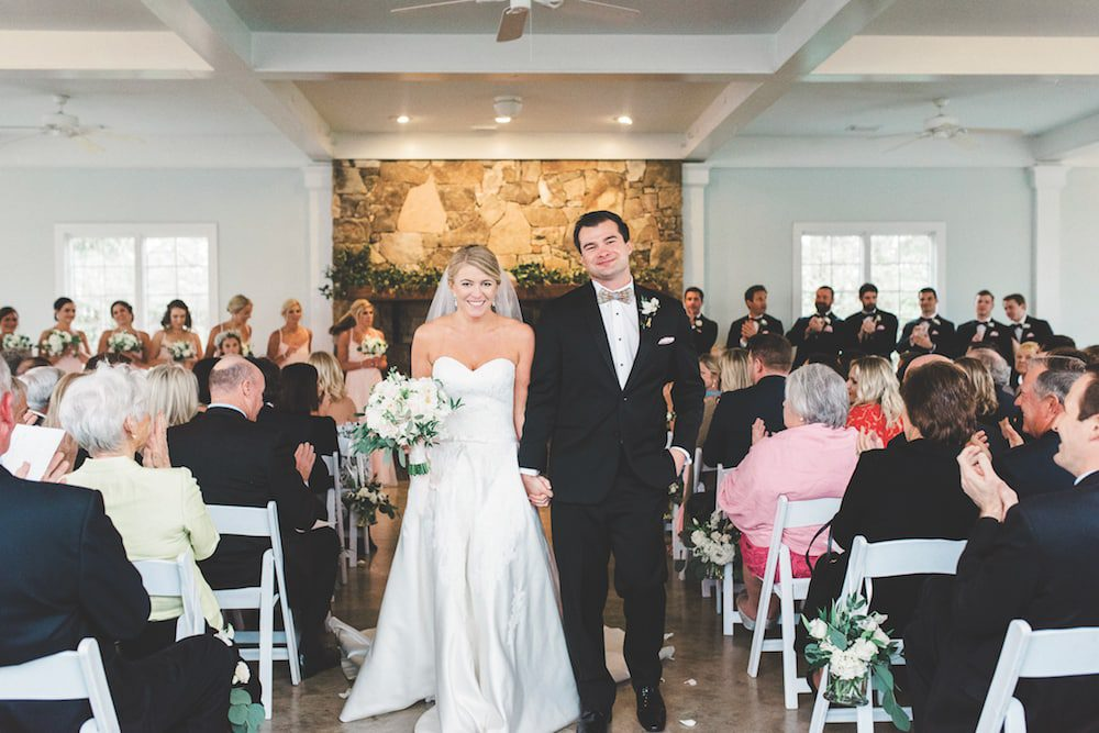 Julia and Will Scroggs wedding at St. Thomas More Catholic School