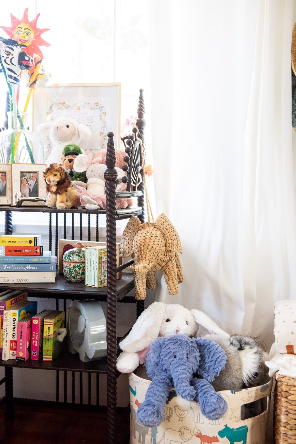 Anna Routh Barzin's kids room