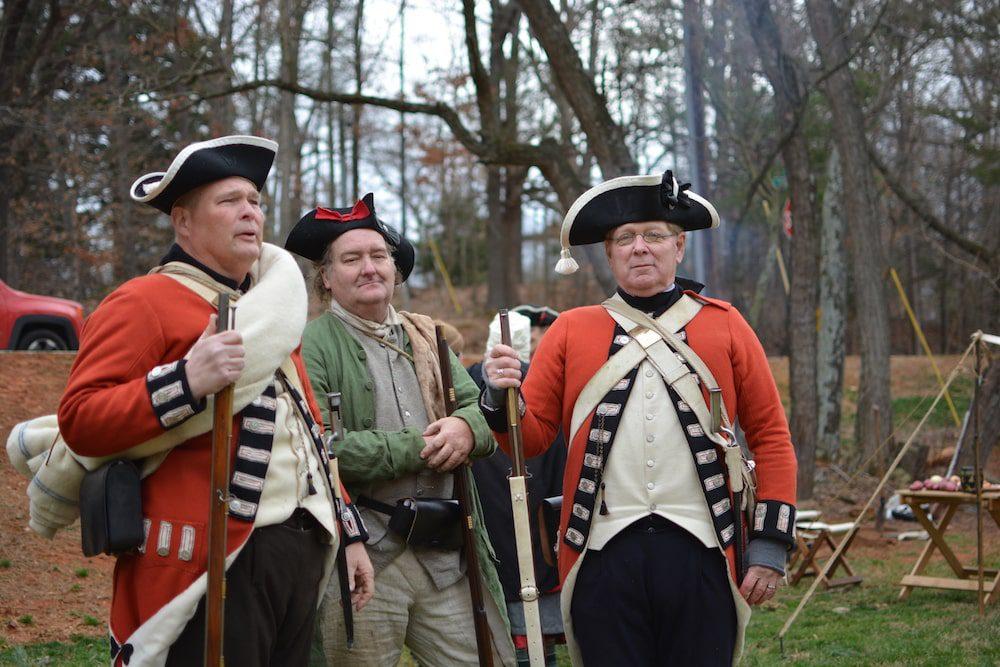 Revolutionary War Living History Day in Hillsborough