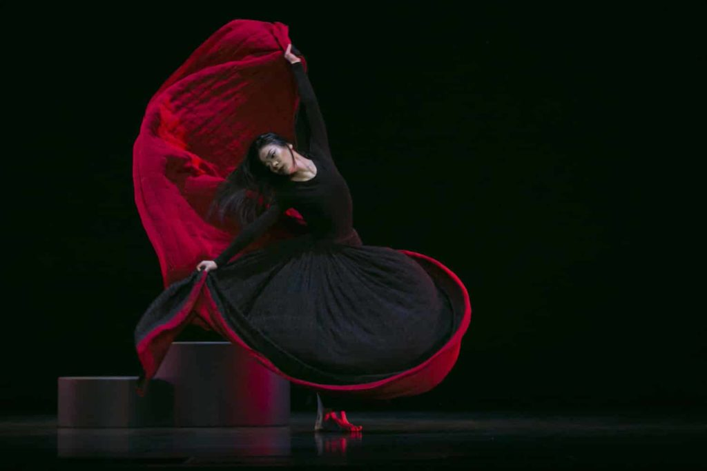 "Martha Graham Company performs ""The Eve Project"" at Carolina Performing Arts"