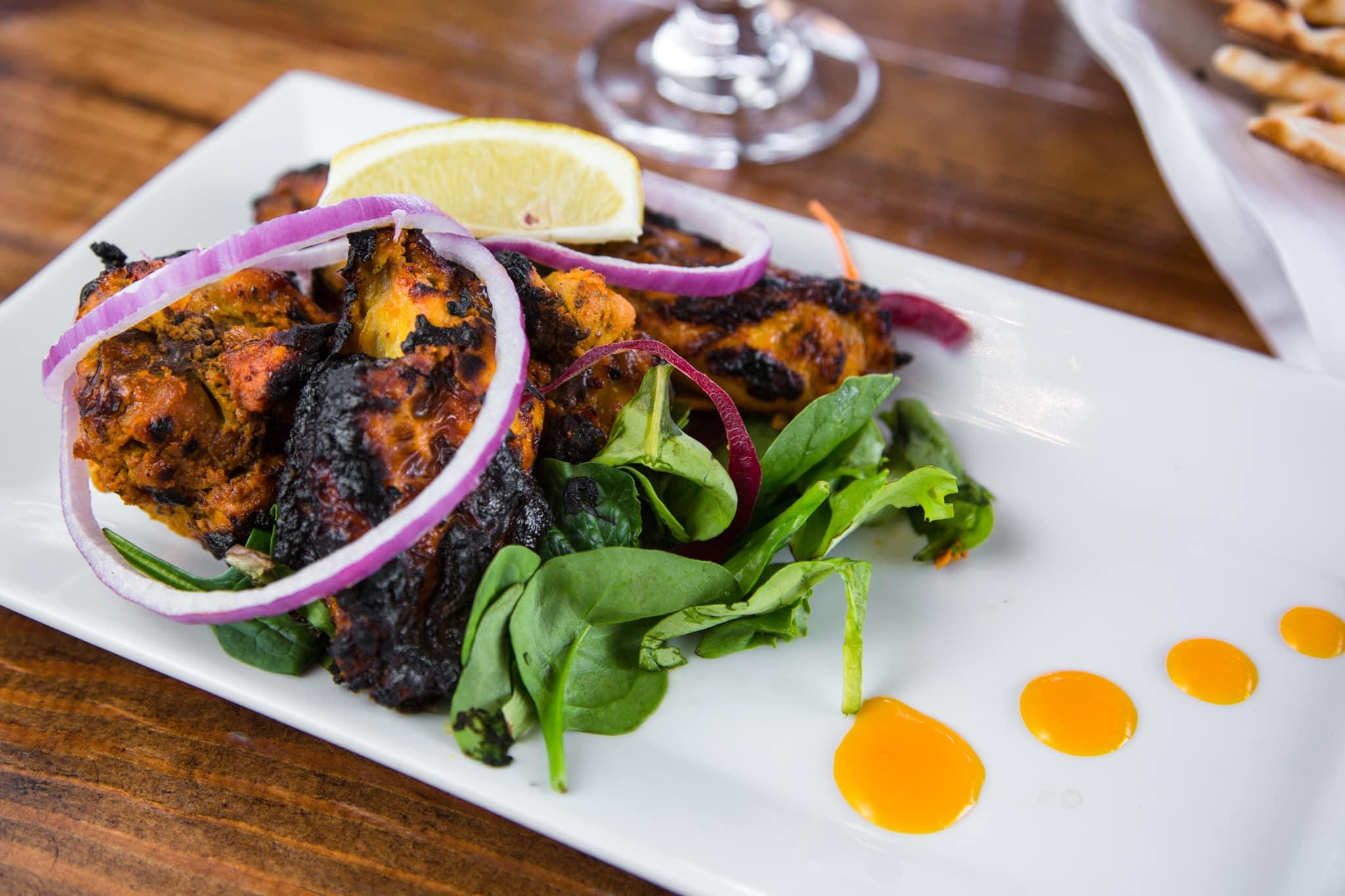 Tandoori Jeera Wings at Chimney Indian Kitchen + Bar