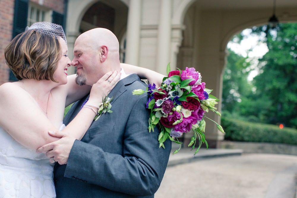 Mark Spain and Shannon O'Neill wedding at The Carolina Inn