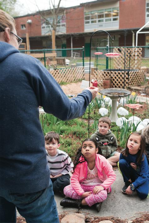 Estes Hills Elementary School Garden Community Chapel Hill