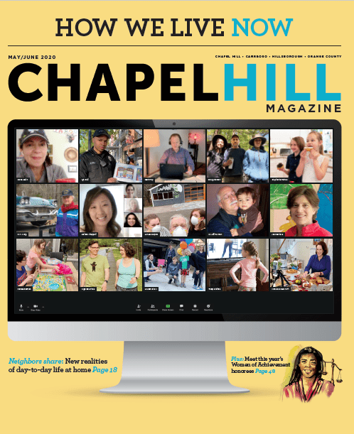 The May/June issue of Chapel Hill Magazine