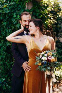 Goldmine wedding