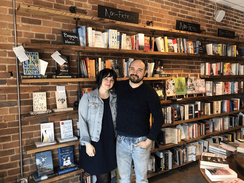 Even as sales dwindle, Epilogue Books Chocolate Brews owners Miranda Sanchez and Jaime Sanchez donated 20% of sales during the last weekend of May to the Chapel Hill-Carrboro NAACP.