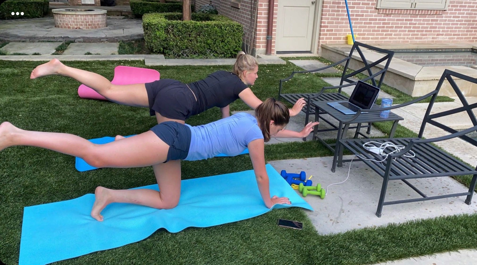 Virtual Saturday Sweat with Chapel Hill Training