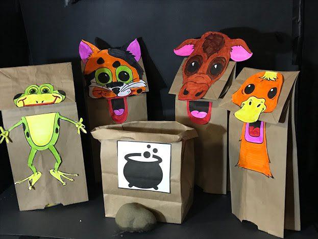 weekend events – virtual puppet workshop