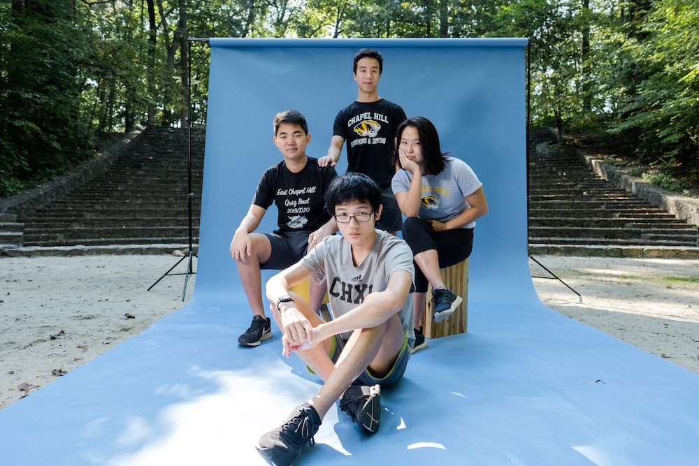 four high schoolers create recycling app