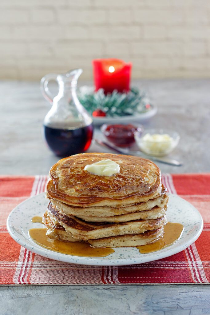 pancakes from the Root Cellar