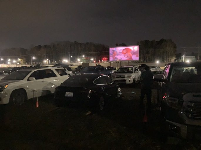 weekend at a glance – Drive-In at Carraway Village