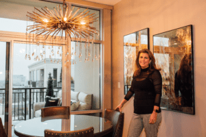 Christy O'Hara designed this downtown Chapel Hill condo.