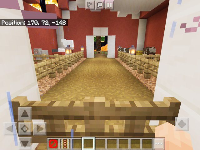 A look into the siblings' Minecraft homes