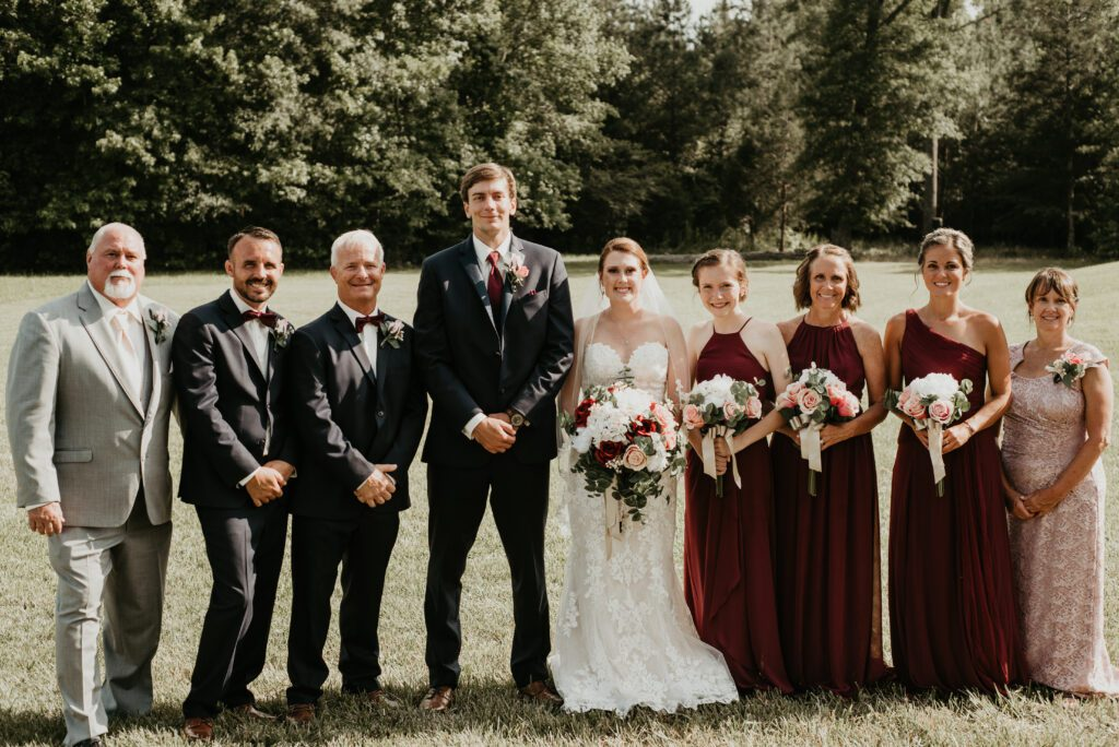 Postponed Pandemic Wedding Saved By Local Dentists Chapel Hill Wedding