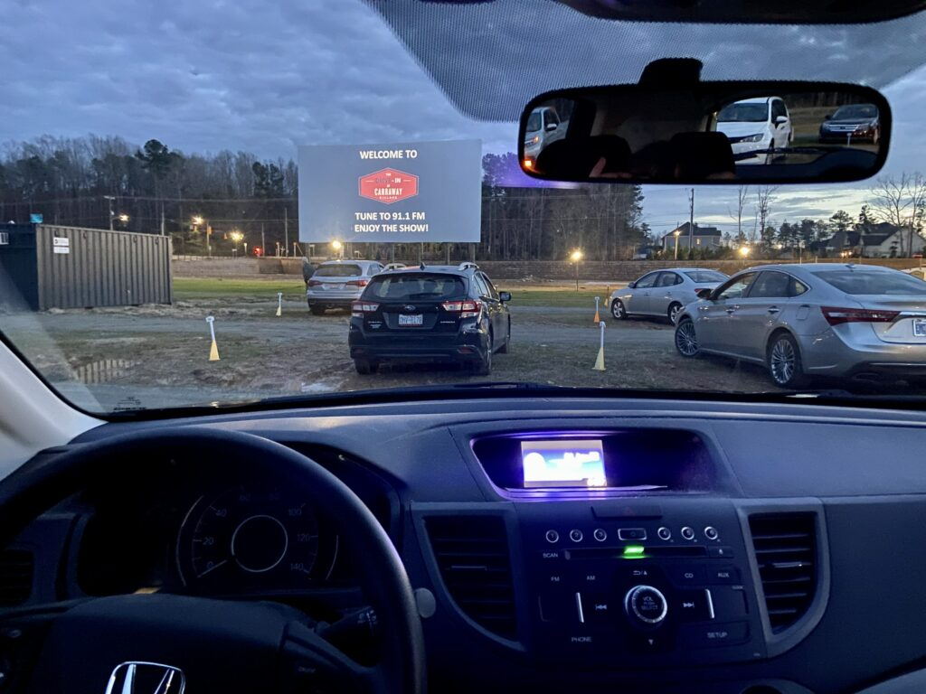 weekend events – the Drive-In at Carraway Village
