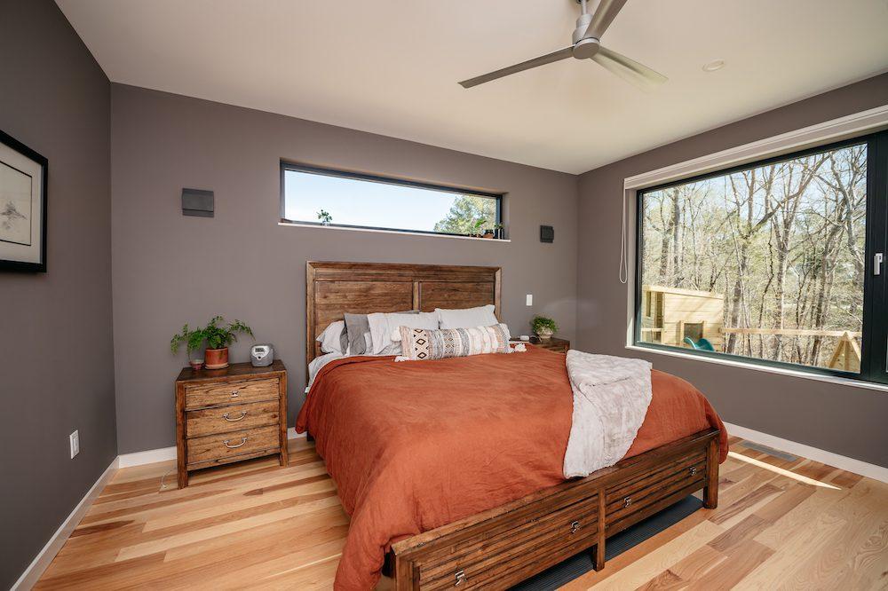 Master Bedroom The Baboolal Residence Chapel Hill Magazine John Michael Simpson