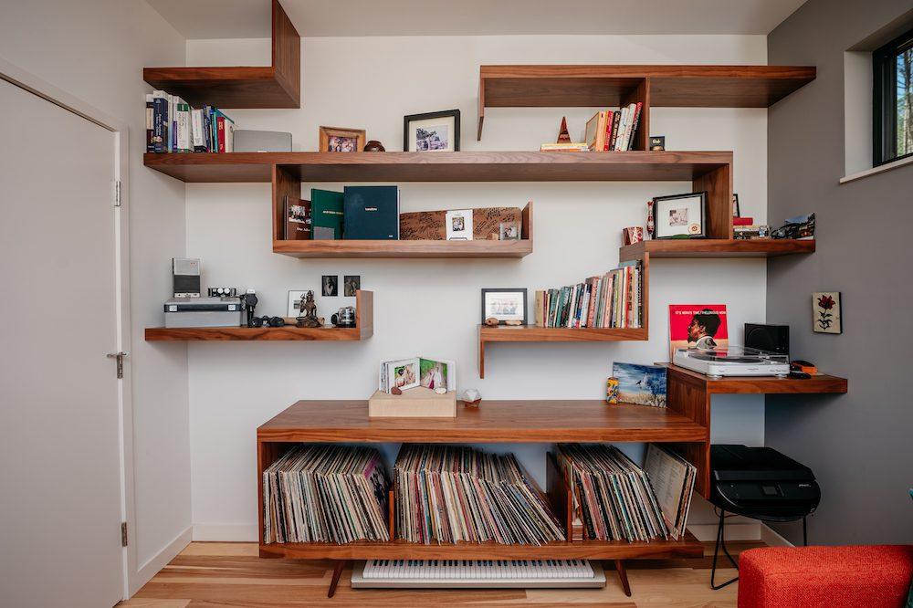 Study Office Record Room The Baboolal Residence Chapel Hill Magazine John Michael Simpson