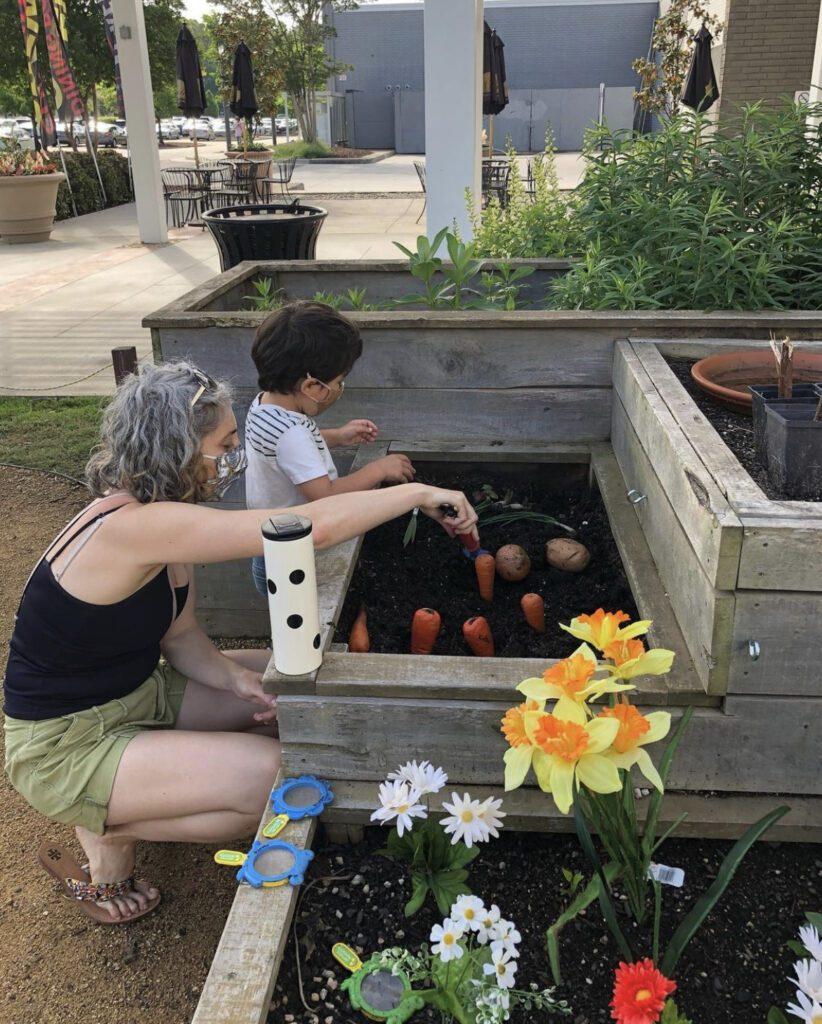 Junior Gardeners with Mother Nature
