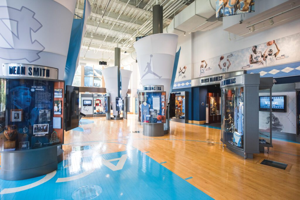 The Carolina Basketball Museum will soon include a section dedicated to the new head coach.