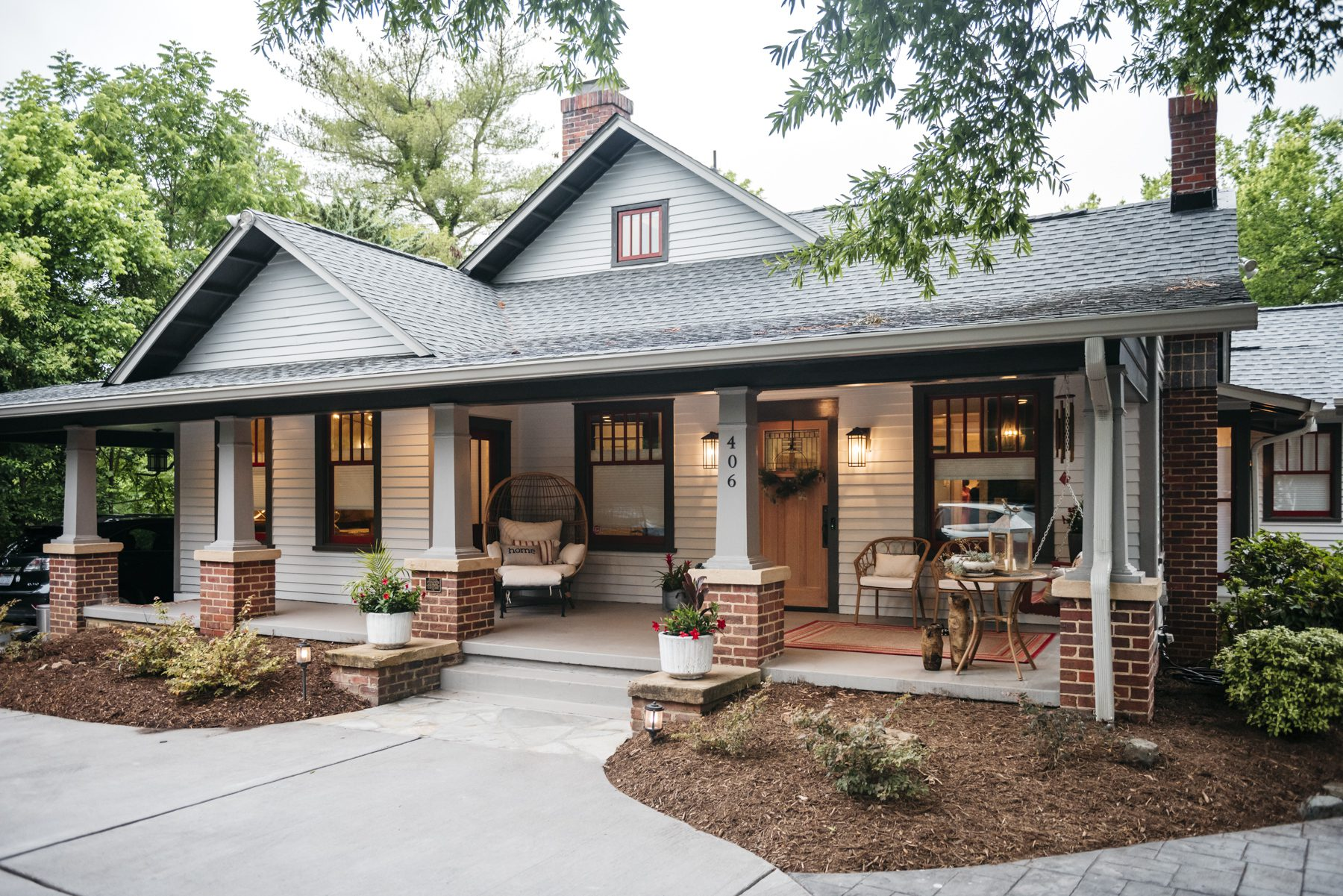 A 100-Year-Old Contemporary Carrboro Craftsman