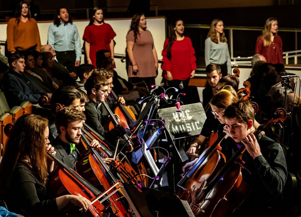 UNC Department of Music students will perform this weekend during Compose Carolina
