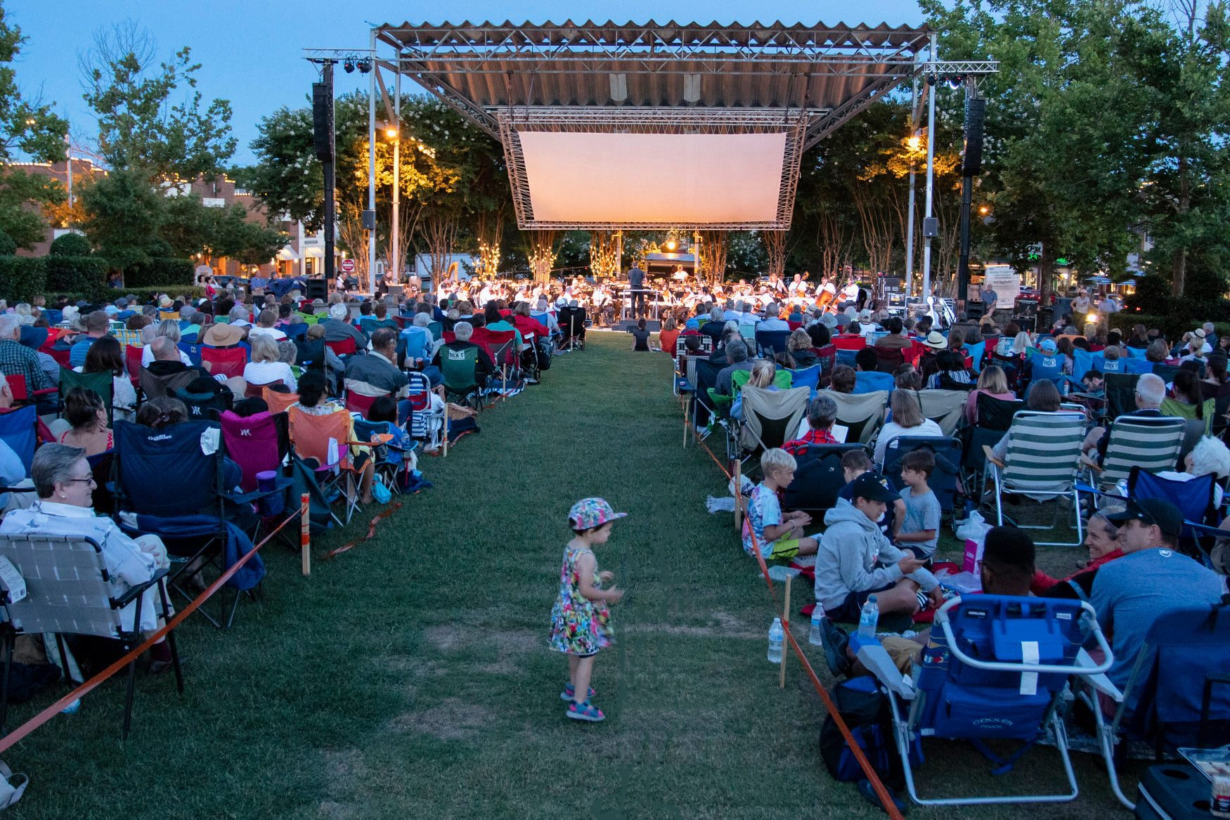 Sundays at Sundown Music Concert Series at Southern Village on the Green