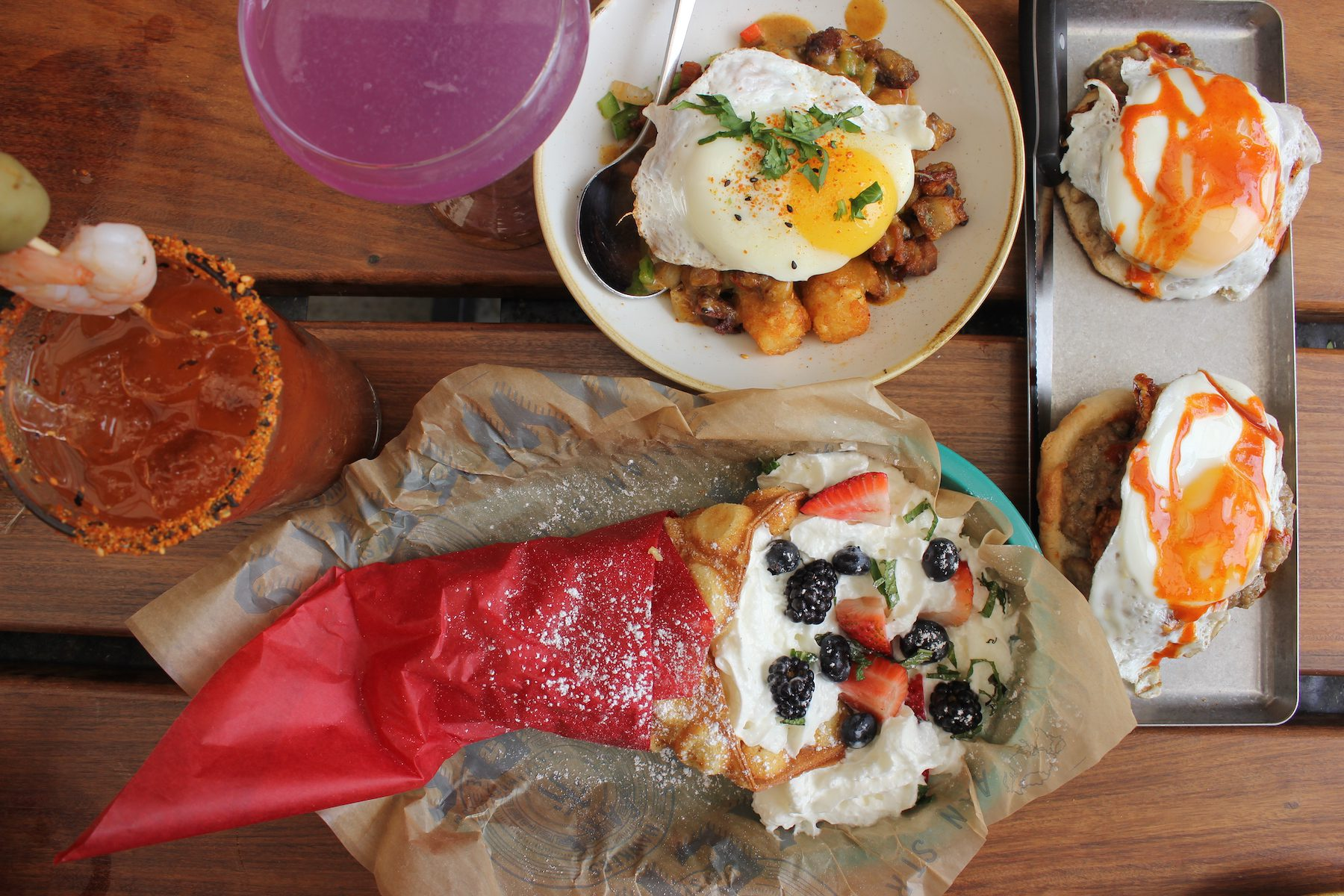 What We're Eating: Hawkers Asian American Brunch