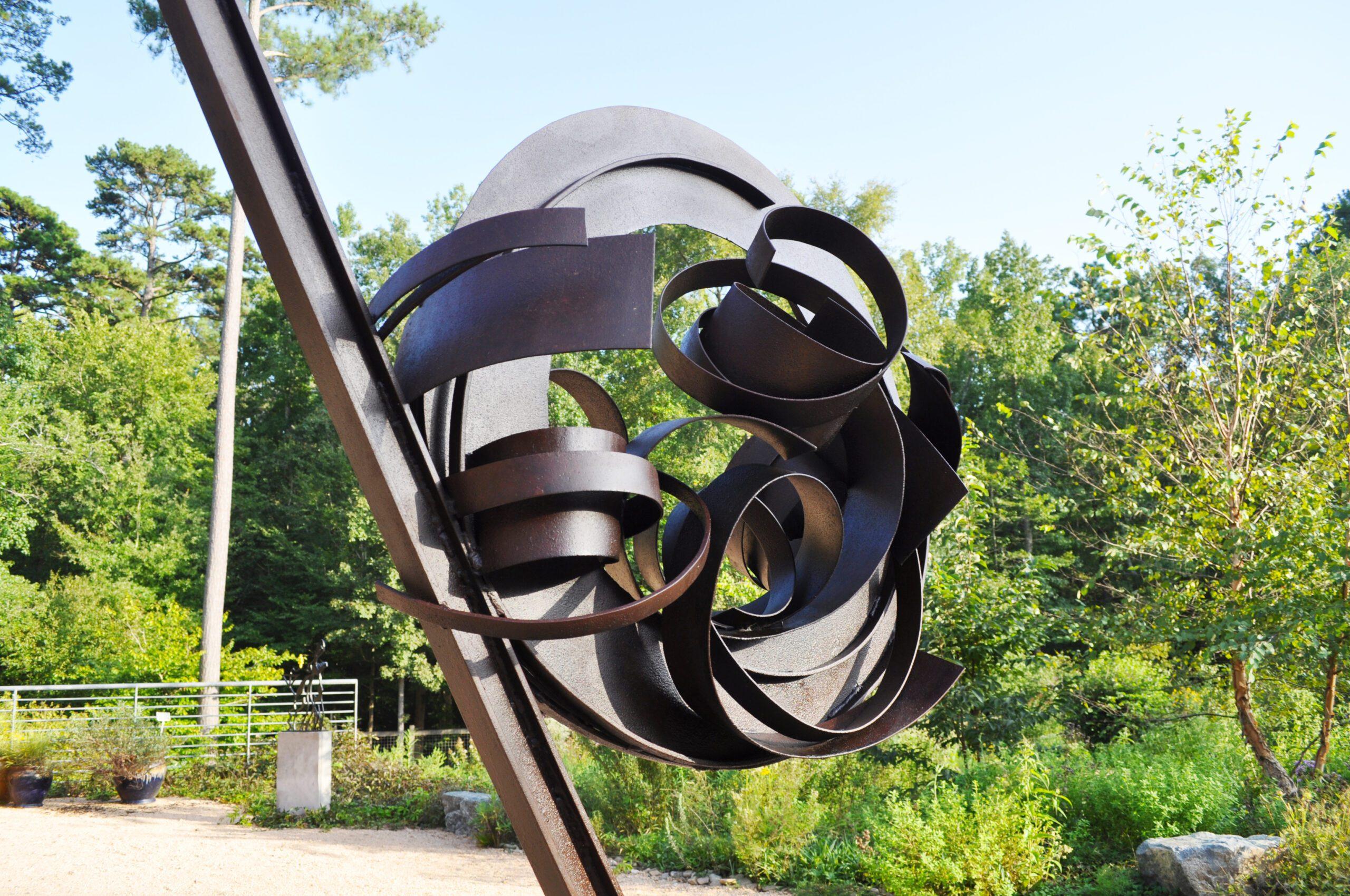 Sculpture at the North Carolina Botanical Garden