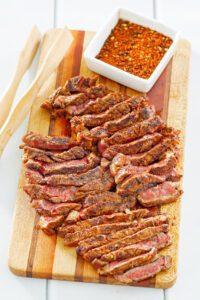 Cajun steak recipe from the original Crook's Corner menu